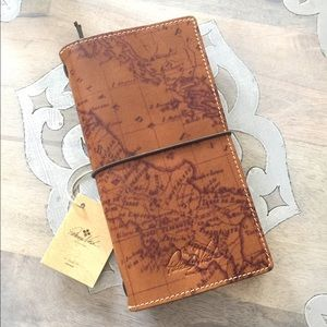 Patricia Nash Lodi Travelers Map Notebook Journal
